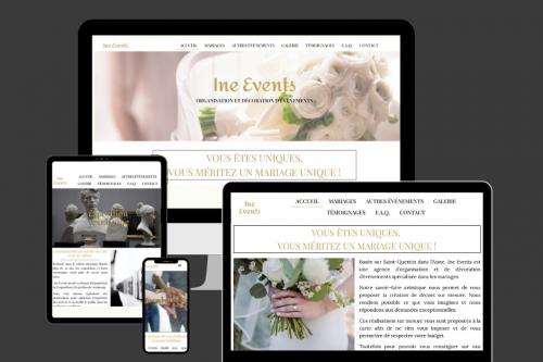 Gwen Communication 59 - Site internet - Référencement - Ine Events Saint Quentin